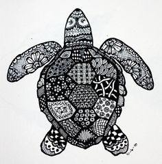1000 Images About Zentangle Animal Art On Pinterest Zentangle Crosses And Zentangles