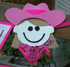 Cowgirl Party Banner.