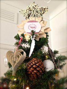 Tree topper @ Velvet Roses made by me.