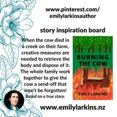 Burning the Cow, a story following the death of a cow on the family farm. There will be hard work, there will be bribes, there will be surprises! #burningthecowstory #shortstory #kindlestory #kindleshortstory #amazonkindle #farmingstory #newzealandfarmingstory #goodreads #emilylarkins #emilylarkinsauthor #burningthecowemilylarkins #familystory #familymemory #contemporaryfiction #fictionshortstory #kiwifiction #newzealandfiction #indieauthor #indiepublished #newzealandauthor… Comedy Stories, Family Memories, Amazon Kindle, Short Stories, Burns, Cow, How To Memorize Things, Fiction, Reading