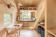 Cabins sleep two to