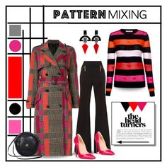 """""""Pattern Mixing: Checks and Stripes"""" by affton ❤ liked on Polyvore featuring Toolally, Chinti and Parker, Paul Smith, Gucci, Christian Louboutin, gucci, polyvoreeditorial and patternmixing"""