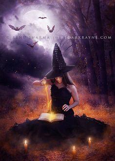 Night of the Witch by TheDarkRayne.deviantart.com on @deviantART