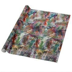 Flowers, Custom Glossy Wrapping Paper