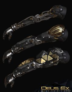 ArtStation - Deus Ex Mankind Divided : Arc Augs Game res, Frederic Daoust