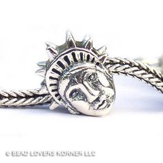 Statue of Liberty Landmark Bead Sterling Silver Memories of your travels, $32.00