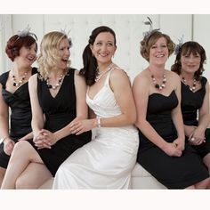 Bridesmaids outfits