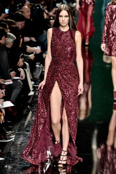 The Best Fall 2014 Runway Looks From Paris // Elie Saab