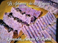Jabón de Lavanda, Avena, Neem y Te Tree.