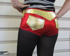 Roller Derby shorts with pockets by knickerockeroller on Etsy, $43.00