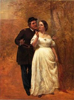 Courting by John George Brown