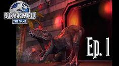 ME ROBAN UN DINOSAURIO!!!!!! // Jurassic World: El Juego #28 - En Español HD - YouTube