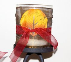 Great idea for #fall #wedding or #candel decor!! love the colors! Original Piccanti Creation! https://www.facebook.com/pages/Piccanti-Creations