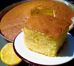 Greek Desserts, Greek Recipes, Greek Cake, Yummy Cakes, Dessert Recipes, Food And Drink, Cooking Recipes, Yummy Food, Favorite Recipes