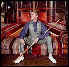 David Bowie by Norman Parkinson 1982