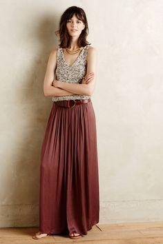 Kasba Maxi Skirt by Sam & Lavi #anthrofave #anthropologie