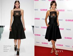 Alexa Chung In Christian Dior – Glamour Women Of The Year Awards