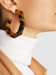Rachel Comey - Factor Tortoiseshell Earrings