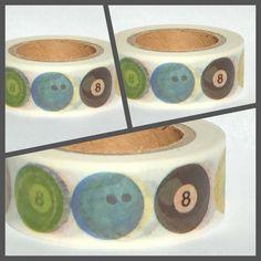 Masking Tape Washi Tape Bälle von Fitzi Flöt auf DaWanda.com