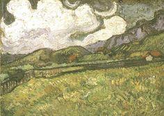 Vincent van Gogh: The Paintings (Wheat Field Behind Saint-Paul Hospital)