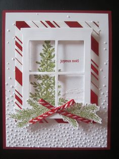 Thinlits Foyer et cheminée - Houses interior designs Christmas Cards 2018, Christmas Card Crafts, Homemade Christmas Cards, Diy Christmas Tree, Xmas Cards, Christmas Themes, Homemade Cards, Handmade Christmas, Christmas Tree Decorations