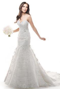 Maggie Sottero 'Phoenix' size 10 used wedding dress - Nearly Newlywed