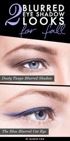 Eye shadow not your strong suit? No worries! Blurred makeup is all the rage this fall. Try this tutorial on for size.