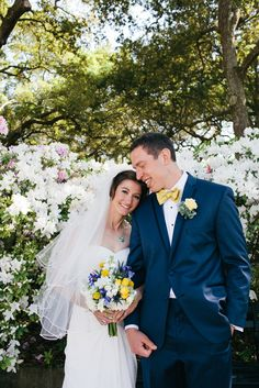 Andrea and Avery's Wedding at the South Carolina Aquarium #Charleston via The Knot