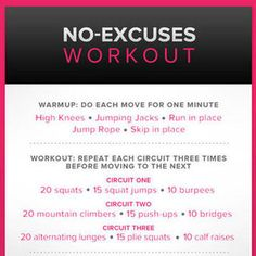 Body-Weight Workout For Women | Poster