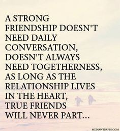 What would we be without friends?  Friends help bring out the best of who we are.... They believe in us and support us, and share our highs and lows...I raise my glass to you, my dearest friends