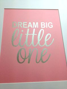 a445f2586c3 Nursery Silver quote print