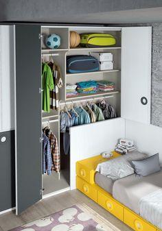 Small Room Bedroom, Closet Bedroom, Kids Bedroom, Bedroom Decor, Kids Room Design, Home Room Design, Kid Closet, Closet Ideas, Closet Renovation