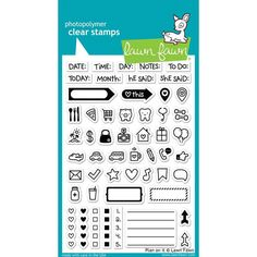 Plan On It - Clear Stamps  (LF1129)