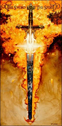 "Ron DiCianni Art | The Sword of The Spirit"" by Ron DiCianni."