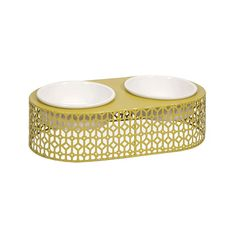Your animals are first class citizens in your home. So they deserve the best: bright, vibrant dinner bowls for their nighttime feast.  Find the Gourmet Pet Feeder, as seen in the The Pet Boutique Collection at http://dotandbo.com/collections/holiday-boutiques-the-pet-boutique?utm_source=pinterest&utm_medium=organic&db_sku=IMX0526