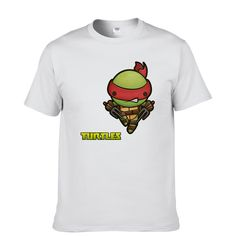 Ninja Turtles Fashion Print 100% Cotton Men's T-shirt