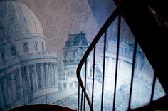 Panthéon mural art by Design Sorbonne Hotel in Paris