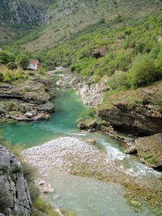 Jevna River, Podgovica, Montenegro