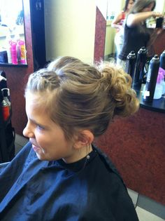 wedding updo for caylin Morales Morales Roberts 30th Wedding Anniversary, Wedding Updo, Bun Hairstyles, Mom And Dad, Vows, Updos, Hair Beauty, Dreadlocks, Hair Styles