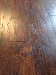 Trafficmaster Hand Scraped Saratoga Hickory 7 Mm Thick X 7 2 3 In Wide X 50 5 8 In Length Laminate Flooring 24 17 Sq Ft Case