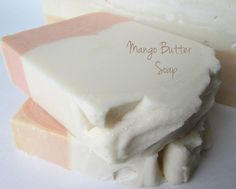 Oil & Butter: Mango Butter Soap - olive palm cconut (lower ratio) and mango butter