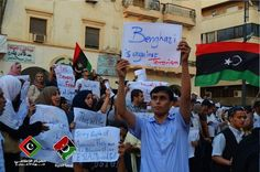 'This Does Not Represent Us': Moving Photos of Pro-American Rallies in Libya - Politics - The Atlantic Wire