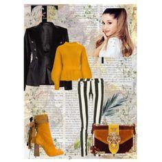 """Spring in """"mustard"""" colour - Styling v hořčicové - krásná hořčicová barva outfit rozzáří Collections, Spring, Polyvore, Model, Image, Fashion, Moda, Fashion Styles"""