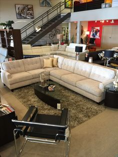 Barbara sectional Palliser Scandinavia Inc Metairie New Orleans Louisiana  contemporary modern furniture