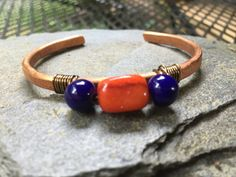 Game Day bracelet to cheer on the team by HammerandWire on Etsy
