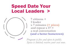 Speed Date Local Leaders 2015 - Events - We the Wiki