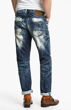 PRPS 'Valley of Silence Barracuda' Straight Leg Jeans (Indigo) available at #Nordstrom