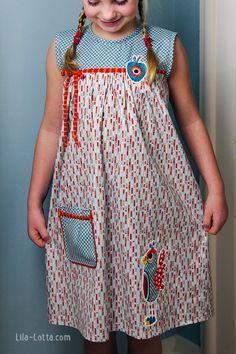 Nach der Messe ist vor der Messe, denn damit ich euch heute noch ein Kleidchen für Leni zeigen kann, habe ich mich echt gesputet und...
