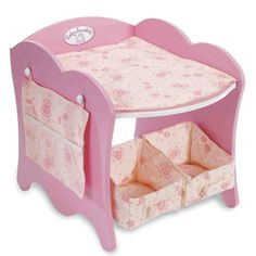 Commercial Baby Changing Table Baby Doll Changing Table, Changing Unit, To My Daughter, Baby Toys, Storage Spaces, Toddler Bed, Nursery, Table Decorations, Dolls