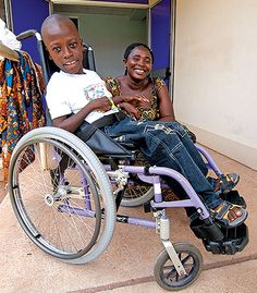 In developing nations like Ghana, West Africa, disabled children are often stigmatized by ancient cultic belief systems. But your gift of a wheelchair and a Bible are changing hearts, minds, and lives. Clinton and Bernice's story...